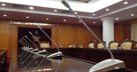 Hệ thống micro hội thảo hội trường tỉnh ủy Lạng Sơn ( Thành phố Lạng Sơn )