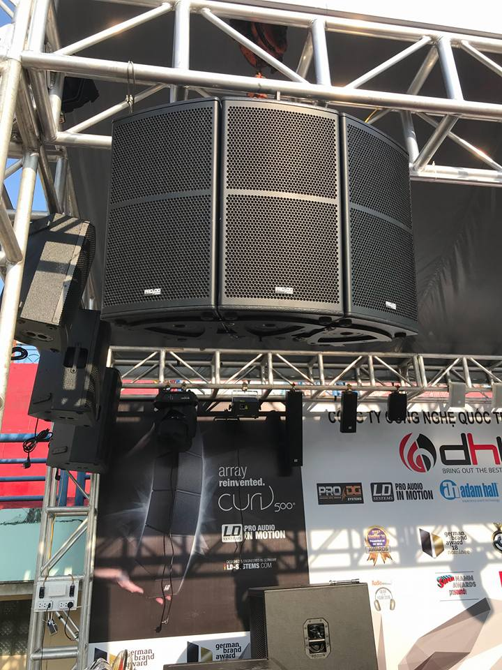DHT Group tại DEMO PRO SOUND in VIETNAM 2018